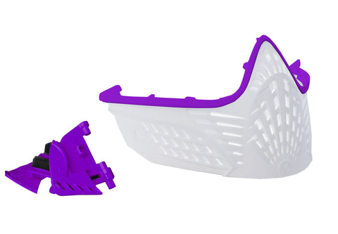 VIO Extend Face Mask - Purple / White
