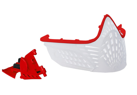 VIO Extend Face Mask - Red / White