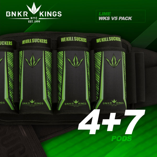 zzz - Bunkerkings Strapless Pack V5 - WKS 4+7 - Lime