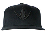 BK Snapback Cap - Crown / Black
