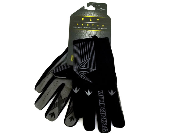 Bunker Kings Fly Paintball Gloves - Black