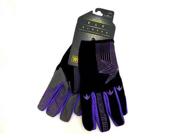 zzz - Bunkerkings Fly Paintball Gloves - Purple