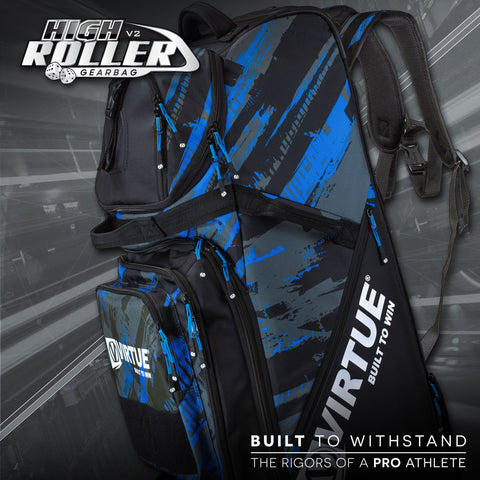 Virtue High Roller V2 Gearbag - Graphic Cyan