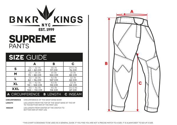zzz - Bunkerkings V2 Supreme Pants - Royal Blue