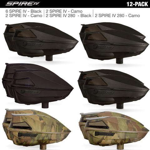 Virtue Spire IV Loaders - Black / Camo (12 Pack)