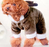 Dog Reindeer Outfit-Small Breed