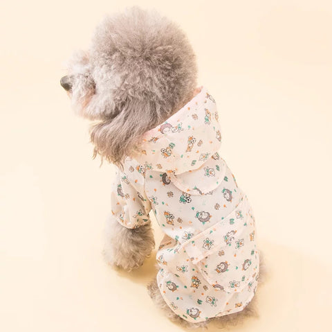 Dog Rain Coat for Small Breed