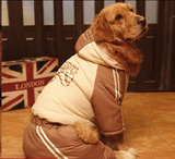 Snow Jump Suit for Medium to Large Breed-Upto 85 Pounds