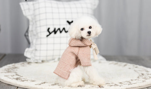 Dog Plaid Jacket - Small Breed