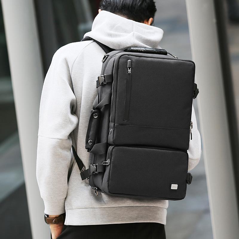Anti-Theft USB Charging 17.3 Inch High Capacity Backpack - MR6656