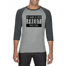 Morten Abel - My name is FRED baseball tees