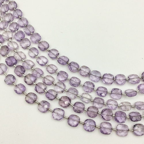 Amethyst Faceted Checker (MULTIPLE SIZES)