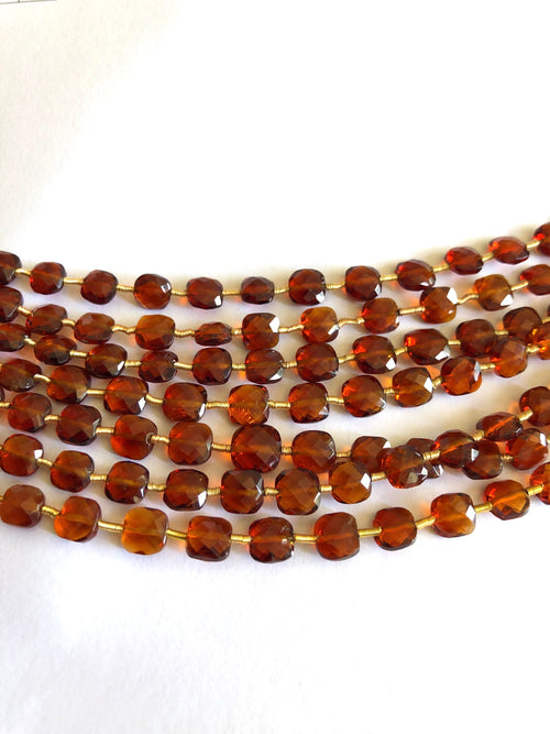 Madeira Citrine Faceted Checker