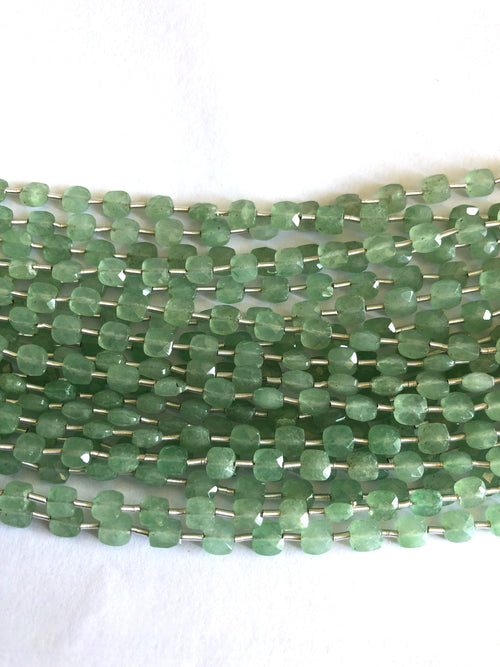 Aventurine Faceted Checker (MULTIPLE SIZES)