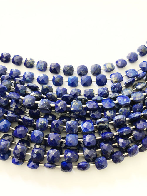 Lapis Lazuli Faceted Checker