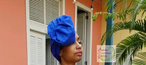 Bombazo Dark Blue Headwrap