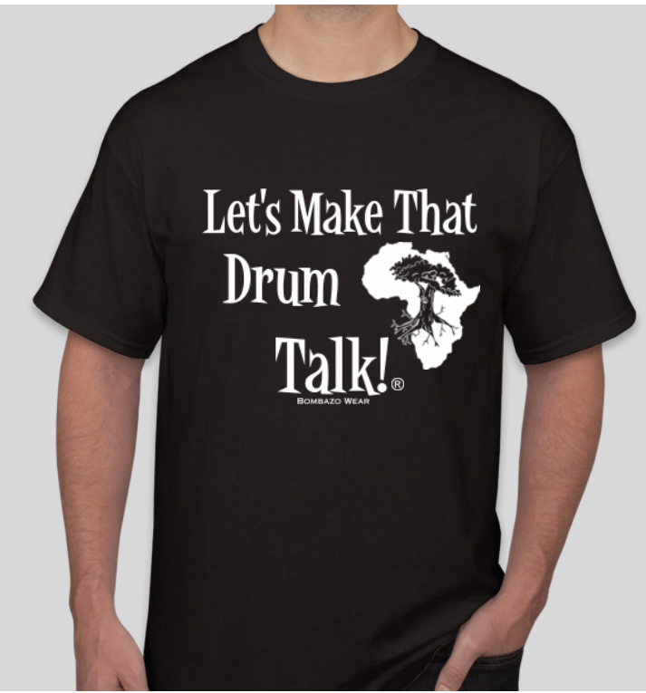 BLACK Signature Let's Make That Drum Talk!® T-shirt