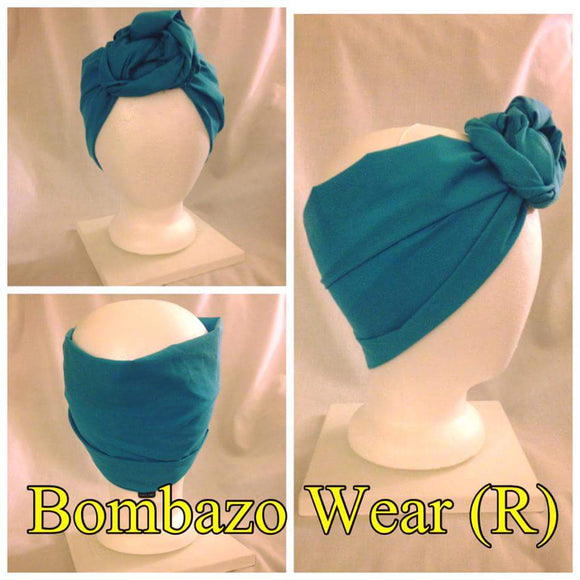 Select your  Bombazo Wear headwrap color