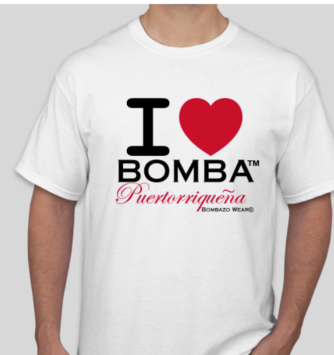 I LOVE BOMBA® Signature T-shirt