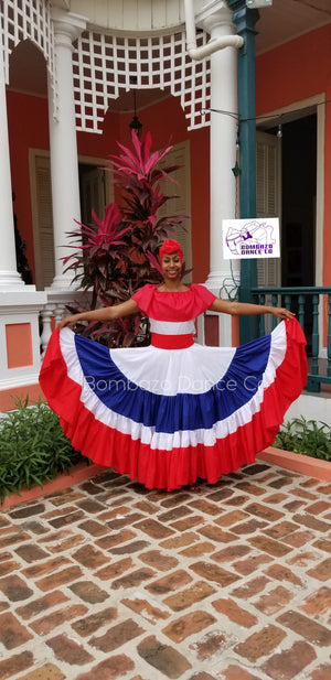 Dominican- Caribbean Dance  Skirt