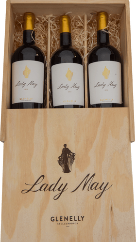 Lady May 2012 3 Bottle Wooden Case