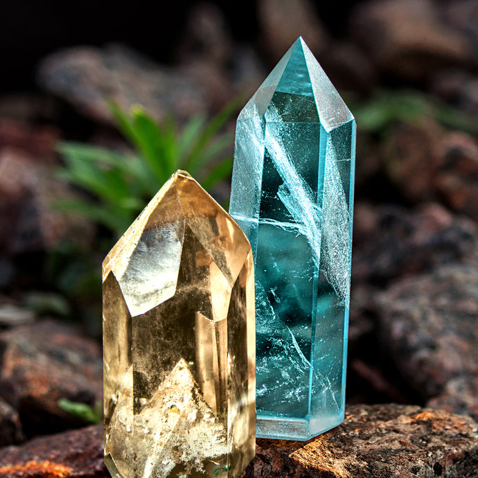 Learn about the birthstones for November: Topaz and Citrine stones