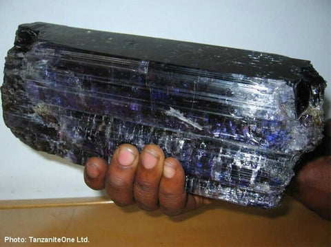 The worlds Tanzanite stone