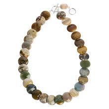 Jasper stone necklace (4050513133654)