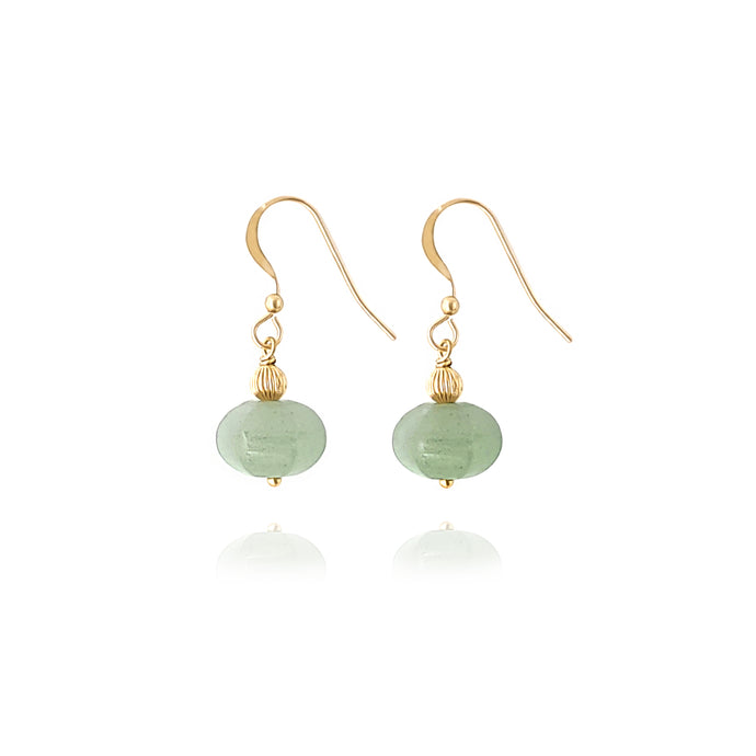 Harmony_Aventurine earrings