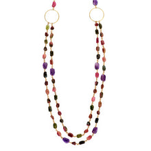Colourful Tourmaline necklace (4050324455510)