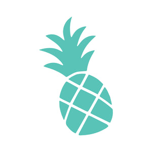 Jimmy Oakes Pineapple vinyl decal in Mint