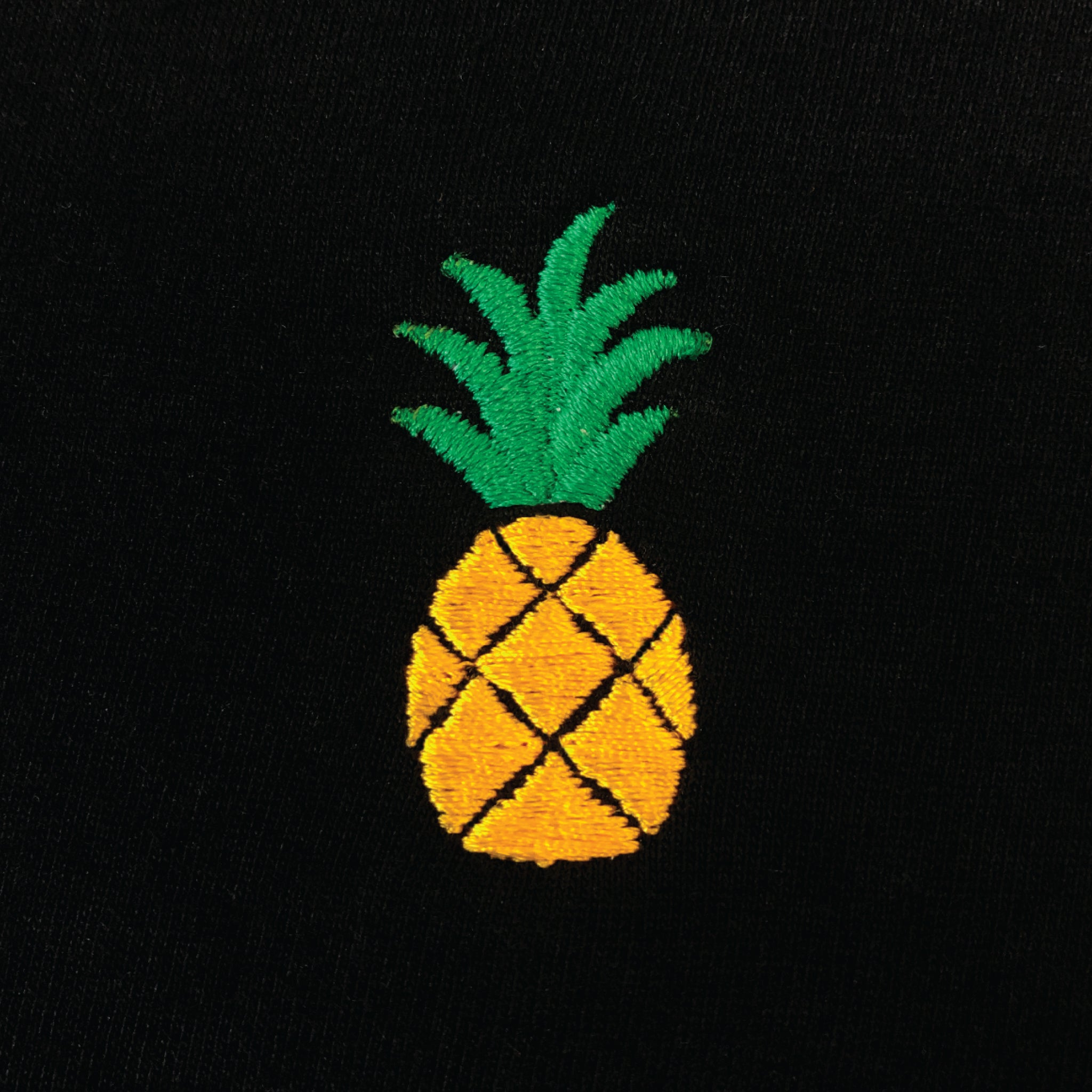 Embroidered Pineapple Shirt