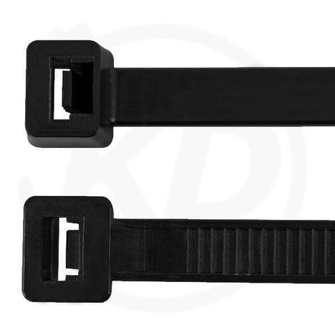 "7"" Cable Tie /Black-100 pieces"