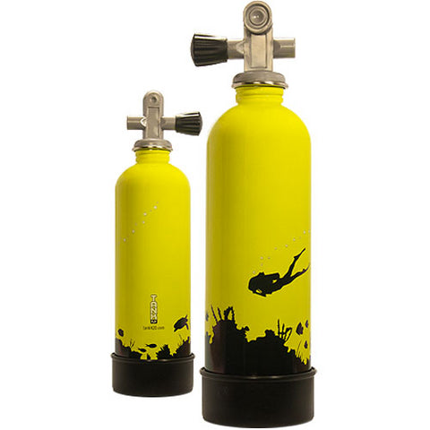 SS SCUBA TANK WATER BOTTLE