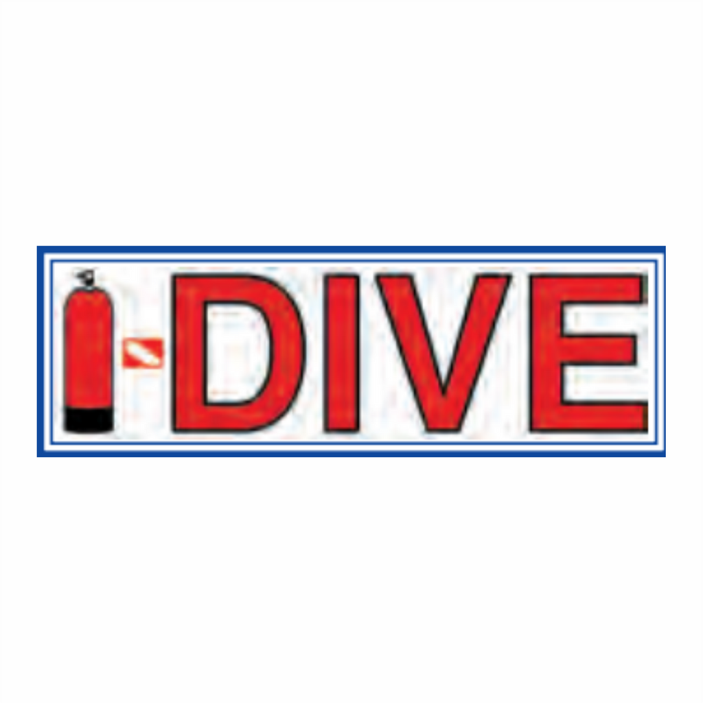I-DIVE STICKER