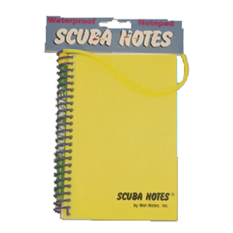 SCUBA NOTES PAD W/ UW PEN