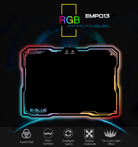 E-3LUE Gaming Mouse Pad With Lighting