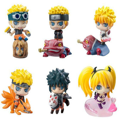 Naruto Cute Action Figure Toys 6/Set