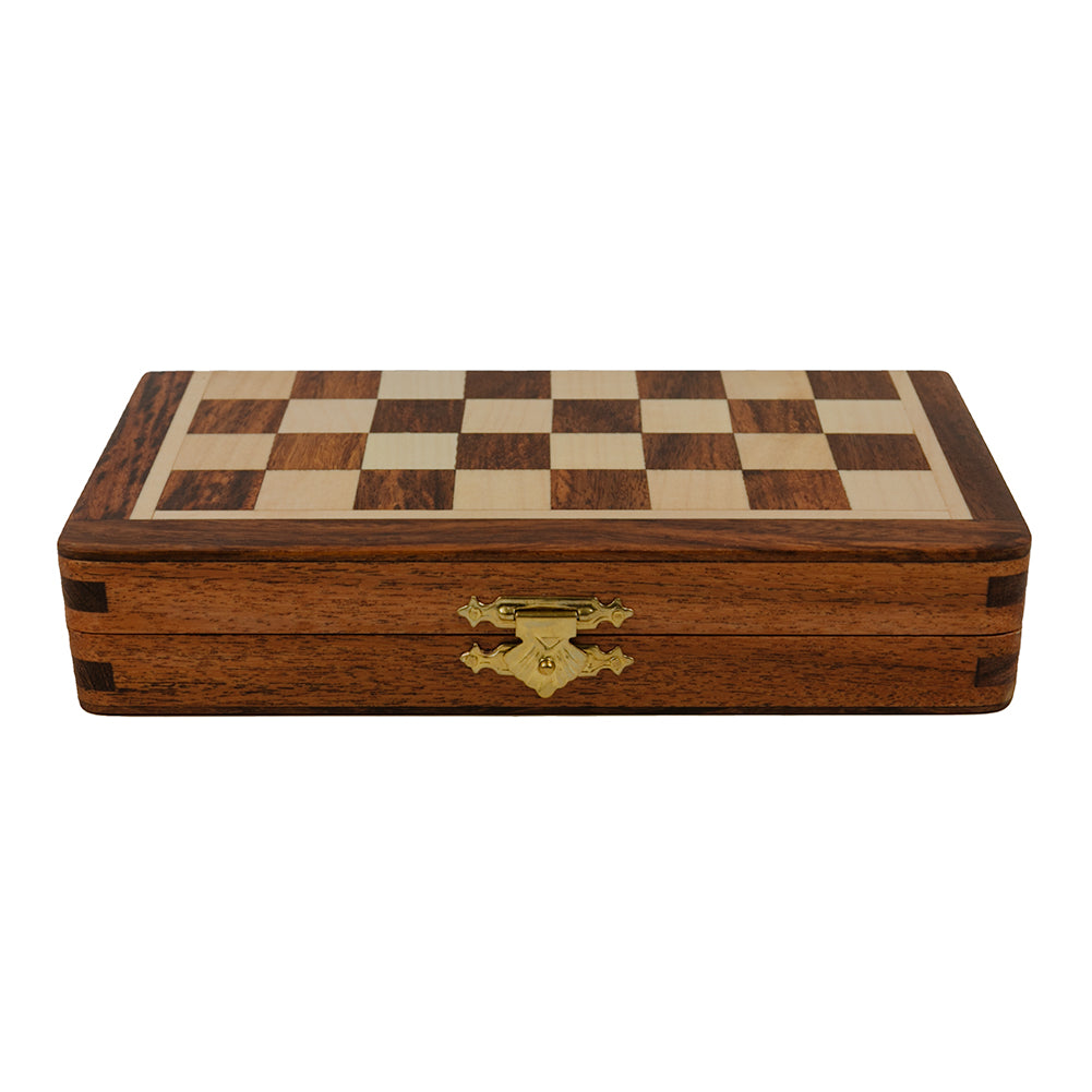 Oxford folding magnetic chess set