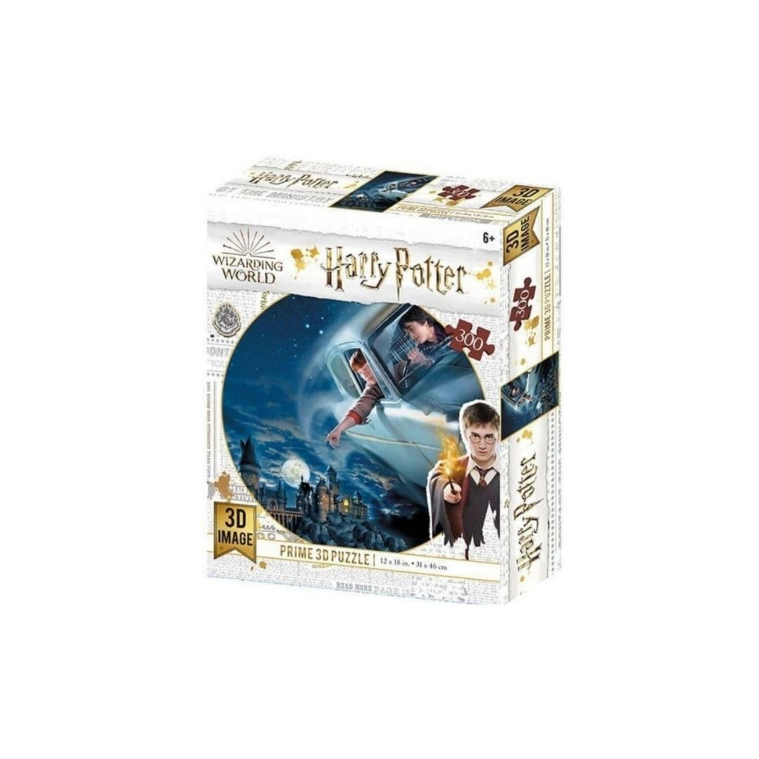 Harry Potter Ford Anglia 3D effect jigsaw puzzle (300px)