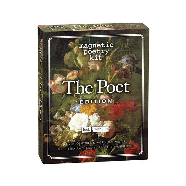 The Poet Magnetic Poetry front cover