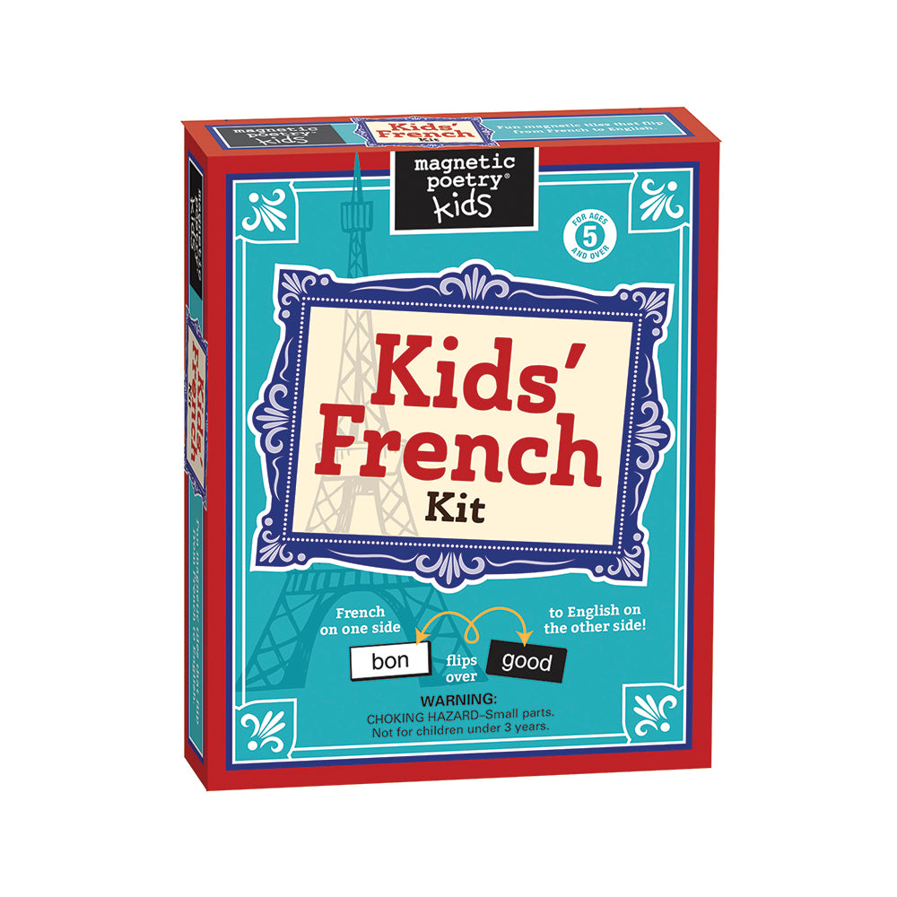 Kids' French Magnetic Poetry