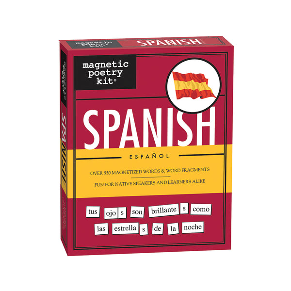 Spanish Magnetic Poetry