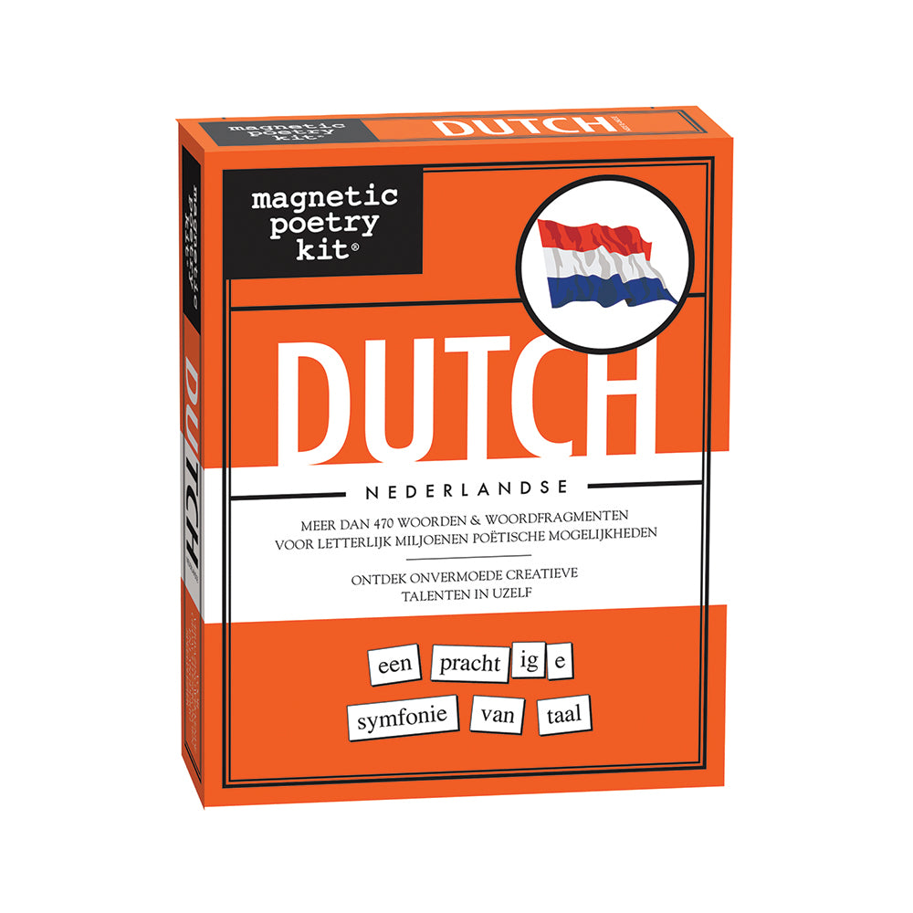 Dutch Magnetic Poetry