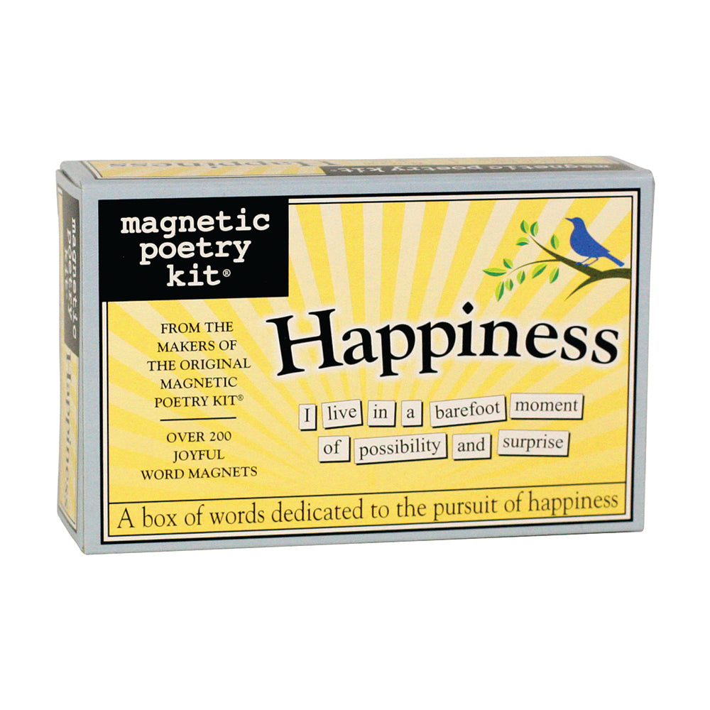 Happiness Magnetic Poetry