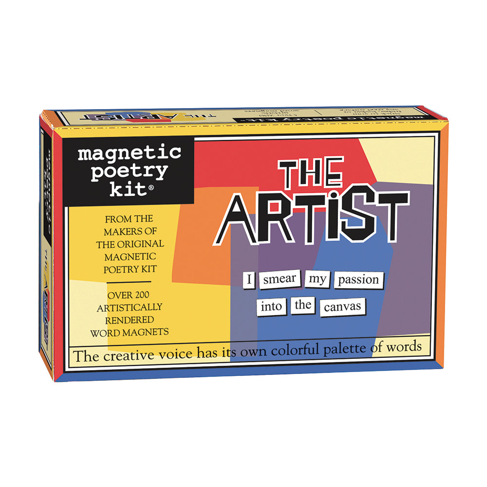 The Artist Magnetic Poetry