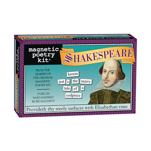 Shakespeare Magnetic Poetry