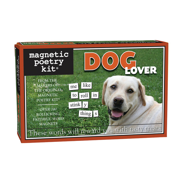 Dog Lover Magnetic Poetry