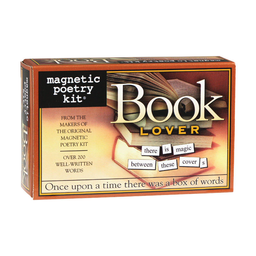 Book Lover Magnetic Poetry