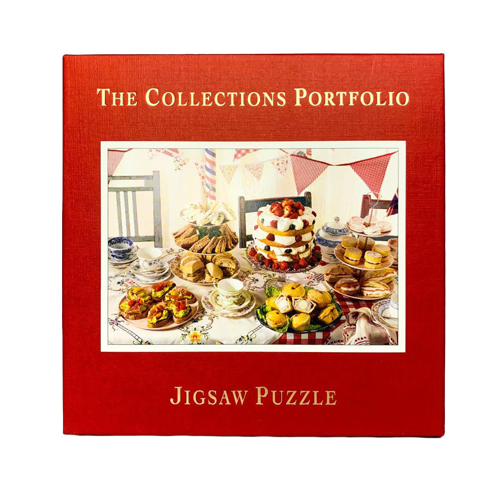 A Great British Tea Party jigsaw puzzle (500px)